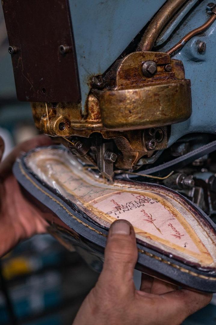 Goodyear sole stitching - Dalbiondo Shoes