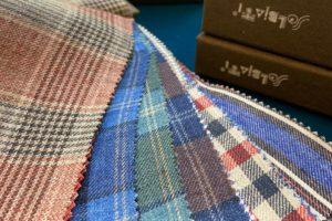 Summer tailoring fabrics by Solbiati