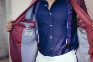 Details of a Dalbiondo outfit