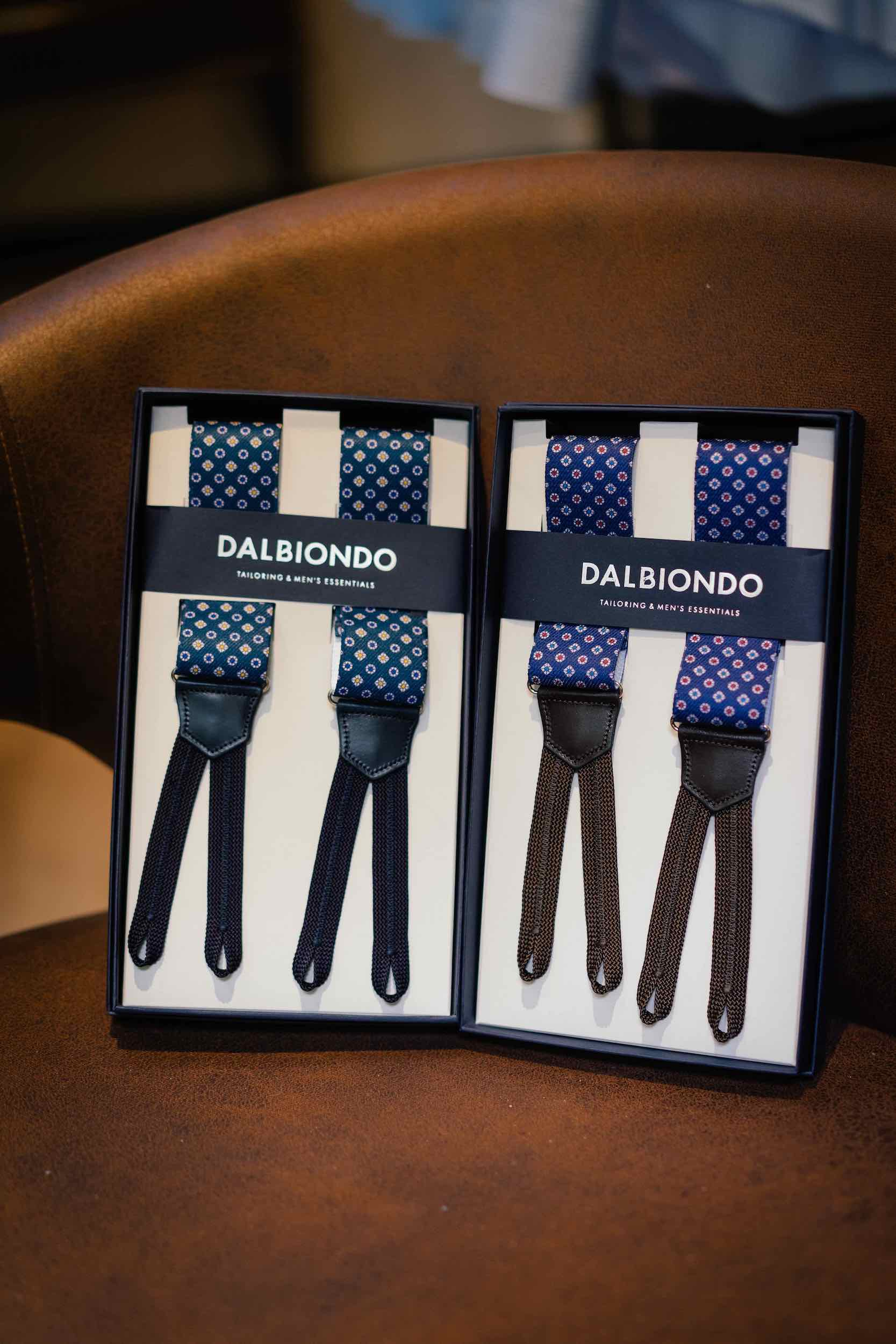 Dalbiondo's Made in Italy suspenders
