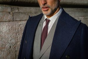 Dalbiondo made to measure overcoat, suit and shirt