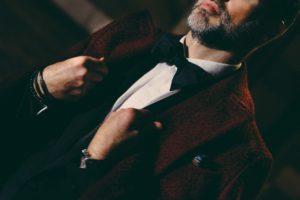 Man with Dalbiondo tuxedo